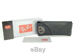 Ray Ban RB3716 186/R5 Shiny Black Top Matte / Blue 51mm Sunglasses