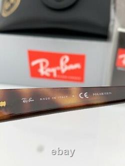 Ray-Ban RB4061 Sunglasses 642/57 Havana Brown Frame Brown Polarized Lenses 55mm