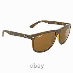 Ray Ban RB4147 Polarized Brown Classic B-15 Sunglasses RB4147 710/57 60