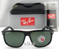 51d0504879a Ray-Ban RB4147 Polarized Sunglasses Large Black Frame 601 58 Green Lenses  60mm