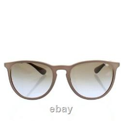 Ray Ban RB4171 Erika Sunglasses Silver Brown Violet Gradient Brand New