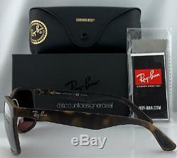 Ray-Ban RB4264CH Sunglasses 894/6B Matte Havana Gold Mirror POLARIZED Large 58mm