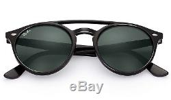 Ray-Ban RB4279 Double Bridge Sunglasses (Black/Green Classic G-15)