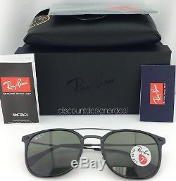 Ray-Ban RB4286 New LiteRay Model Sunglasses 601/9A 55 Black Green Polarized 55mm