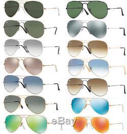 Ray Ban Rb 3025 Aviator Goccia Occhiali Da Sole Sunglasses Sunnenbrille Lunettes