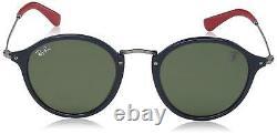 Ray-Ban SCUDERIA FERRARI RB2447NM F60631 Blue-Gunmetal / Green G-15 REGULAR CASE