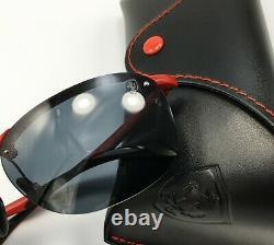 Ray-Ban SCUDERIA FERRARI RB4302M F62387 Men's Red Sunglasses CLASSIC Gray Lens