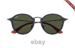 Ray-Ban Scuderia Ferrari RB 2447MF F61531 Gloss Blue/Green 52mm Sunglasses