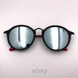 Ray-Ban Scuderia Ferrari RB 2447NM F61430 Black/Silver 52mm Sunglasses