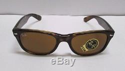 Ray-Ban Sunglasses 2132 710 Wayfarer Brown Light Havana BRAND NEW 100% ORIGINAL