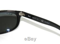 Ray Ban Sunglasses Balorama 4089 601/58 62 Black Green Polarized Rayban