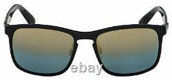 Ray-Ban Sunglasses RB 4264 601/J0 58 Black Blue Gold Grad Polarized Chromance