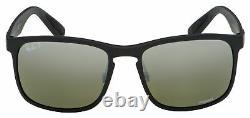 Ray-Ban Sunglasses RB 4264 601S5J 58 Black Grey Mirror Chromance Polarized