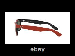 Ray-Ban Sunglasses RB2132 NEW WAYFARER 646631 Red green Unisex