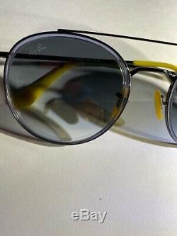 Ray-Ban Sunglasses RB3647M FERRARI F03071 gunmetal grey new Super Sale