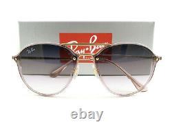 Ray-Ban Sunglasses RB4292N Blaze Double Bridge Pink Violet 6387/0U New Authentic