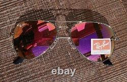 Ray-Ban Sunglasses Unisex Women Mirror Pilot Aviator USA