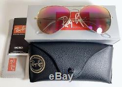 Ray-Ban Sunglasses Women Unisex Aviator Mirror USA