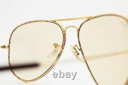 Ray Ban Tortuga Aviator 58 Bausch Lomb U. S. A Vintage Occhiali Da Sole Sunglasses