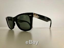 Ray-Ban Ultra Wayfarer RB 2157K 18K White Gold Limited Production. Numbered