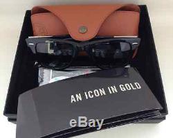 Ray Ban Ultra Wayfarer RB 2157K White Gold Limited Edition Bruno Mars