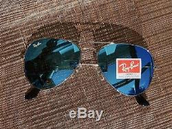 Ray-Ban Unisex Women Aviator Mirrored Sunglasses USA
