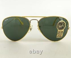 Ray-Ban Vintage Bausch & Lomb Era Aviator Sunglasses Flying Colors 94-96