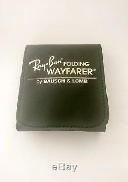 Ray Ban Wayfarer Folding Bausch & Lomb