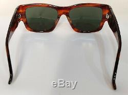 Ray Ban Wayfarer Nomad Sunglasses Tortoise W0947 B&L RARE Vintage rectangular