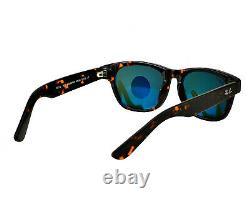 Ray-Ban Wayfarer Tortoise Frame/Green Classic G-15 Polarized Sunglasses 52mm