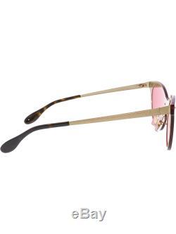 Ray-Ban Women's Polarized Blaze Cat Eye RB3580N-043/E4-43 Gold Sunglasses