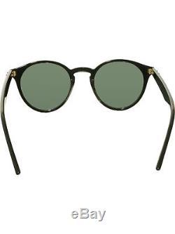 Ray-Ban Women's RB2180 RB2180-601/71-49 Black Round Sunglasses