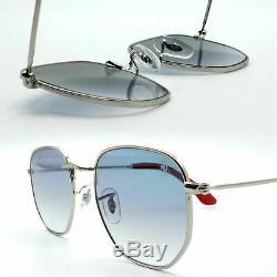Ray-Ban hexagonal Scuderia Ferrari new sunglasses blue lens RB3548NM F007/3F 51