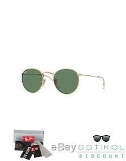 Ray ban 3447 001 50 round metal occhiali da sole tondi sunglasses sonnenbrille