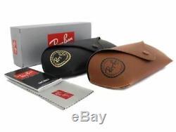 Ray-ban Aviator Medium 58mm unisex Sunglasses Gold/ Gradient Blue