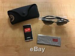 Ray-ban Rb3507 Clubmaster Aluminum Square Sunglasses, Gunmetal