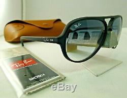 Ray-ban Rb4125 601s/32 Cats5000 Black Light Grey Gradient Sunglasses 59mm New