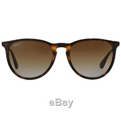RayBan Erika Classic POLARIZED Sunglasses Tortoise Gunmetal Brown 4171 54-18