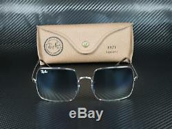 RayBan RB1971 91493F SILVER CLEAR GRADIENT BLUE 54 mm Unisex Sunglasses