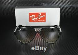 RayBan RB4125 601/32 BLACK CRYSTAL GREY GRADIENT 59 mm Men's Sunglasses
