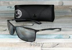 RayBan RB4179-601S82 LITEFORCE MATTE BLACK grey mirror Polarized 62mm Sunglasses