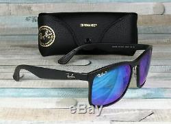 RayBan RB4264-601SA1 MATTE BLACK blue flash Polarized 58 mm Men's Sunglasses