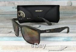 RayBan RB4264-894/6B MATTE HAVANA brown mirror Polarized 58 mm Men's Sunglasses
