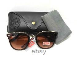RayBan Ray Ban RB3016 Clubmaster Classic Sunglasses Brown Lenses G15 51 mm