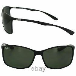 RayBan Wayfarer Liteforce POLARIZED Sunglasses Black Green Classic 4179 601S9A