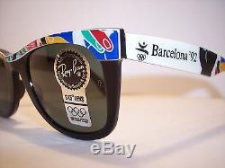 RayBan Wayfarer Spezial Olympic Games BARCELONA'92 very rare Original 90'er