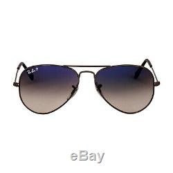 Rayban Metal Frame Blue Grey Gradient Unisex Sunglasses RB30250047855