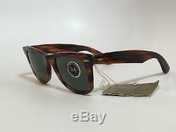 VINTAGE BAUSCH & LOMB RAY-BAN Wayfarer B&L 5024 SUNGLASSES USA