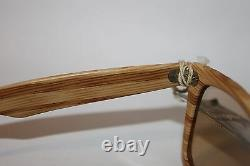 VINTAGE NOS very rare B&L Ray-Ban Woody Wayfarer changeable lenses