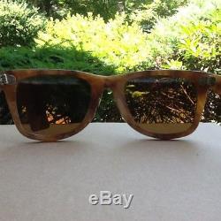 Vintage B&L 5022 Ray Ban Wayfarer Limited Blond Frost Tortoise USA Original